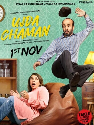 Ujda Chaman Comedy Sunny Singh Maanvi Gagroo Film Poster
