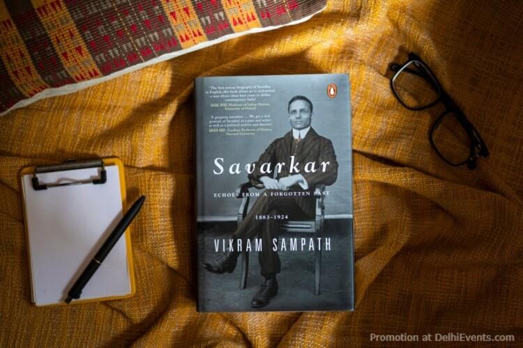 Vikram Sampaths Savarkar Echoes from Forgotten Past Book Launch Teen Murti House Creative