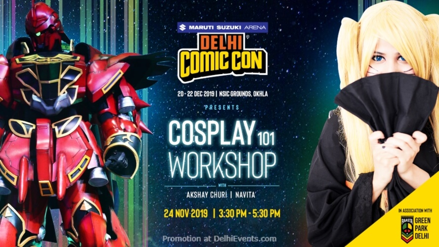 Cosplay Workshop Akshay Churi Navita Raasta Green Park Creative