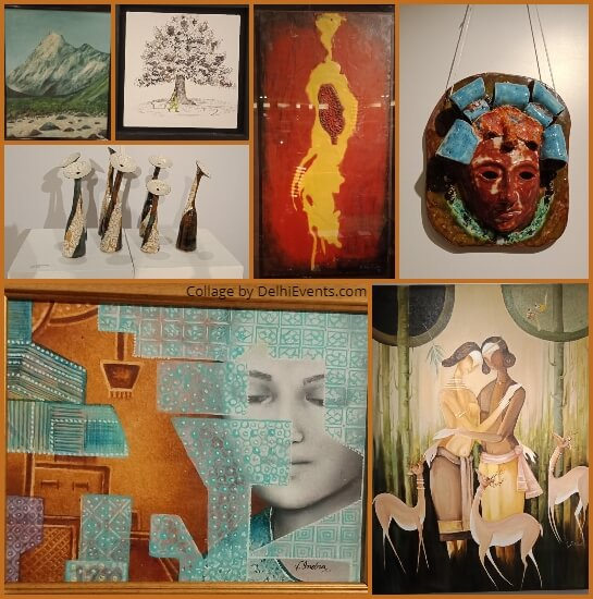 Art Junction Group Show 12 Artists Lalit CP Creative