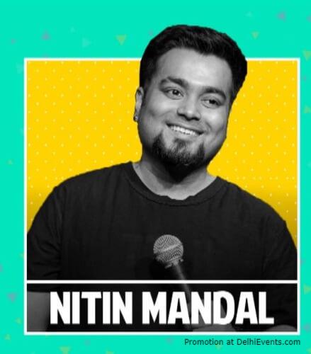 Comedian Nitin Mandal