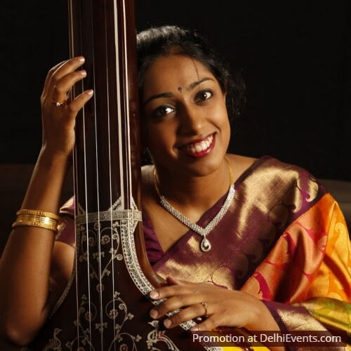 Vocalist Charanya Lakshmikumaran