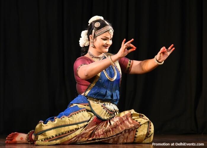 Bharatanatyam Dancer Gayathri Rajaji