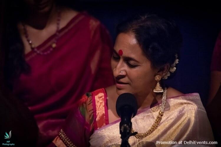 SPICMACAY Carnatic Music Concert Bombay Jayashri Ramnath India Habitat Centre Lodhi Road Creative