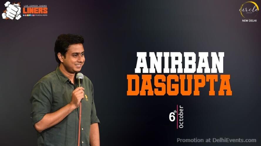 Punchliners Standup Comedy Anirban Dasgupta Circle Cafe Kalkaji Creative