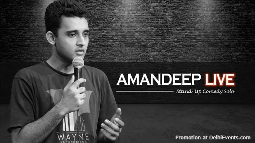Standup Comedy Amandeep Green House Cafe Lodhi Road Creative