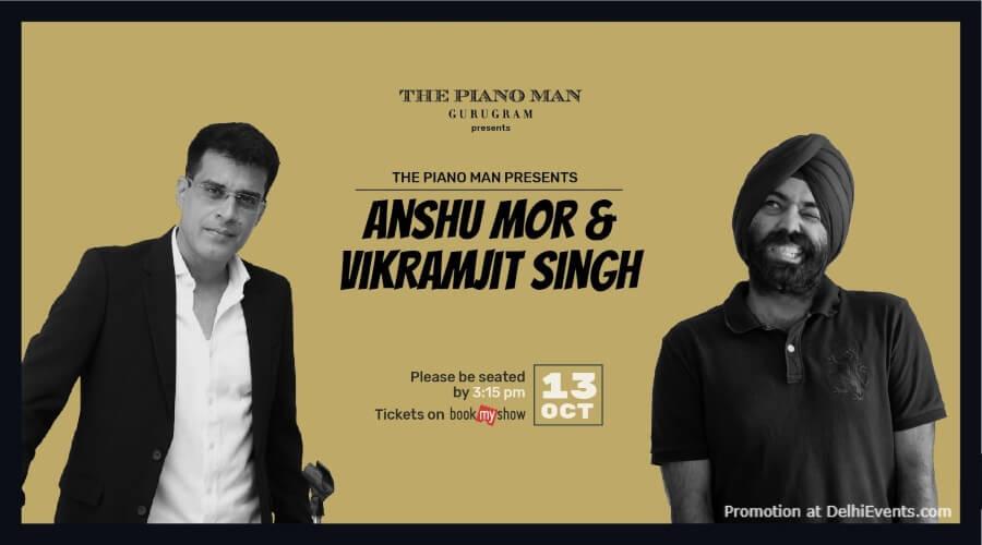 Standup Comedy Anshu Mor Vikramjit Singh Piano Man Gurugram Creative