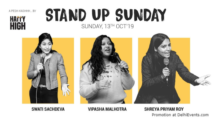 Standup Comedy Swati Shreya Vipasha Happy High Shahpur Jat Creative