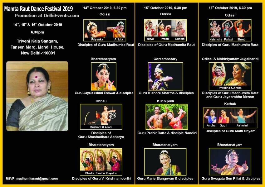 Mamta Raut Dance Festival Triveni Kala Sangam Mandi House Creative