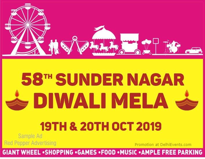 58th Sunder Nagar Diwali Mela Sundar Nagar Lodhi Road Creative