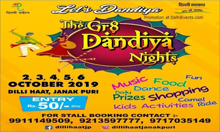 Gr8 Dandiya Nights Dilli Haat Janakpuri Creative
