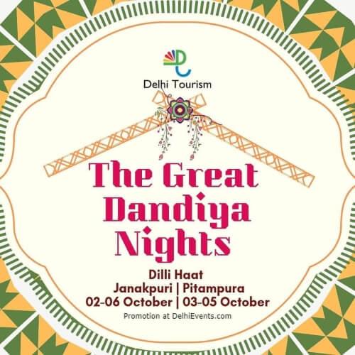 Gr8 Dandiya Nights Dilli Haat Pitampura Creative
