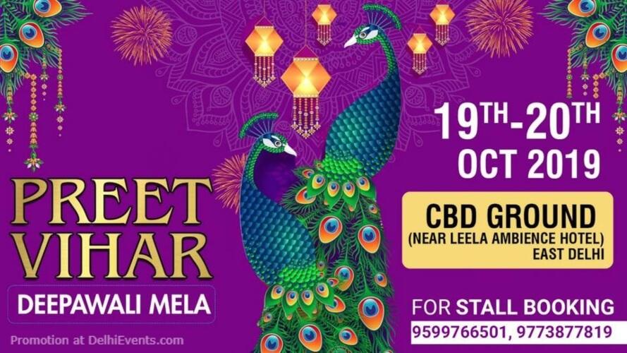 Preet Vihar Diwali Mela Samiti 2019 CBD Ground Shahdara Creative