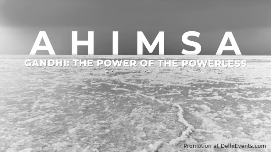 Ahimsa  Gandhi Power Powerless Film Poster