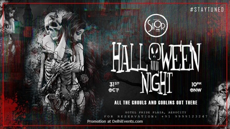 Halloween Night Imperfecto Shor Aerocity Creative