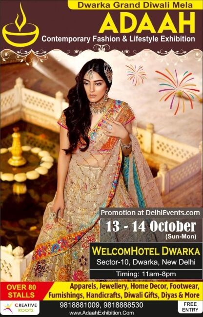Creative Roots Adaah Contemporary Fashion Lifestyle Exhibition WelcomHotel Dwarka Creative
