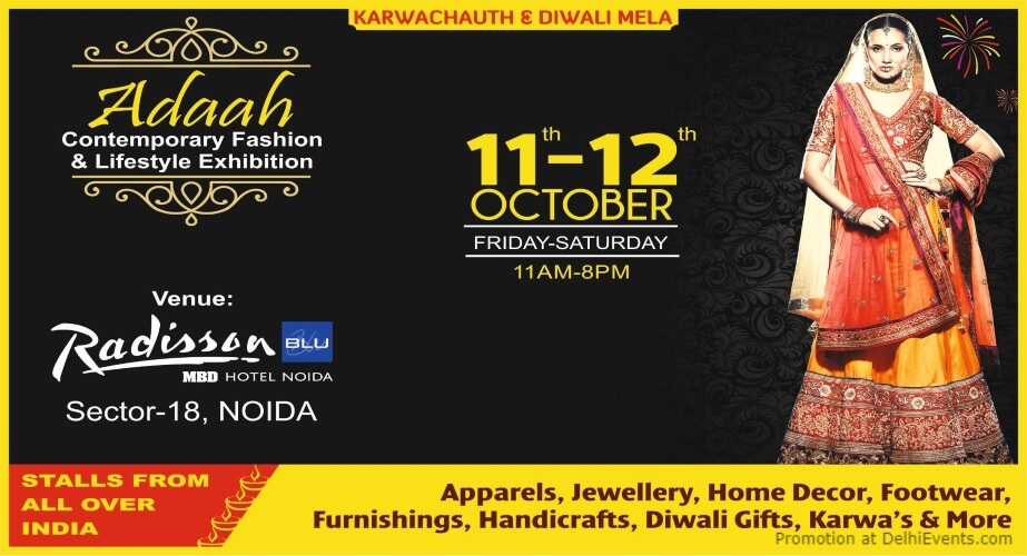 Adaah Contemporary Fashion Lifestyle Exhibition Radisson Blu Hotel Noida Creative