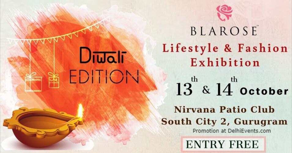 Blarose Lifestyle Fashion Exhibition Diwali Edition Nirvana Patio Club South City II Gurugram Creative