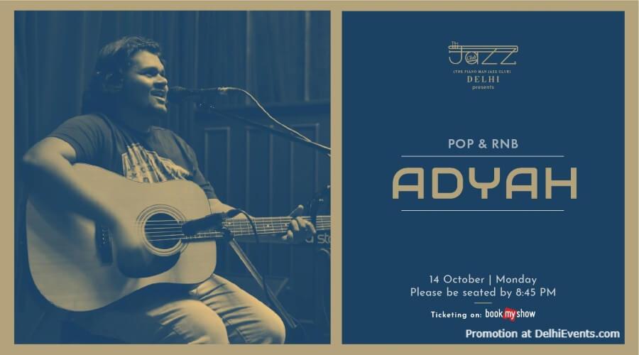 Adyah Piano Man Jazz Club Safdarjung Enclave Creative