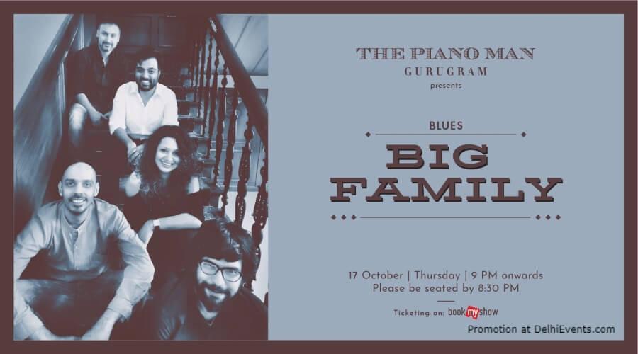 Big Family Band Piano Man Gurugram Creative