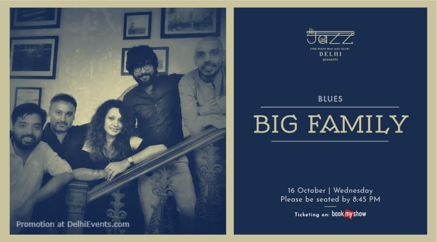 Big Family Band Piano Man Jazz Club Safdarjung Enclave Creative