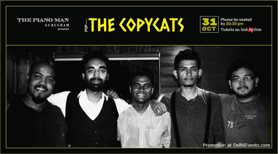 Copycats Band Piano Man Gurugram Creative