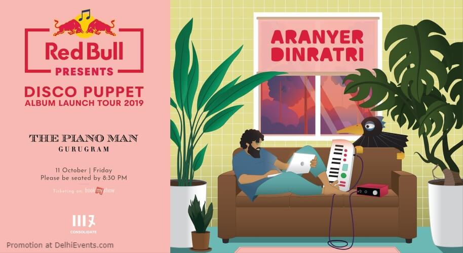 Disco Puppet  Album Launch tour 2019 Piano Man Gurugram Creative