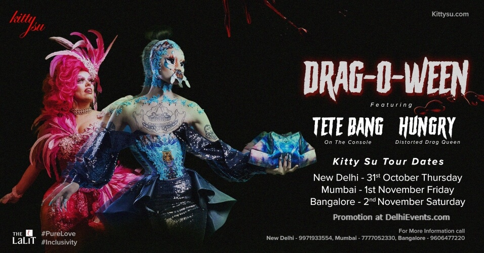 DragOWeen Lalit Connaught Place Creative