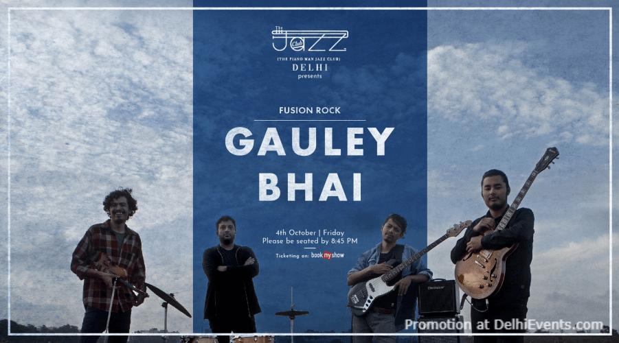 Gauley Bhai Piano Man Jazz Club Safdarjung Enclave Creative