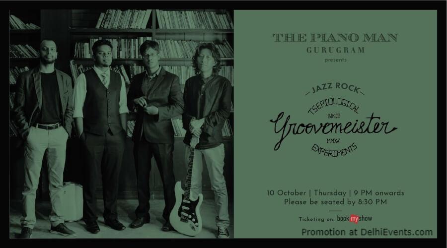 Groovemeister Piano Man Gurugram Creative