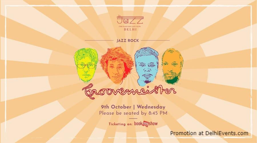 Groovemeister Piano Man Jazz Club Safdarjung Enclave Creative