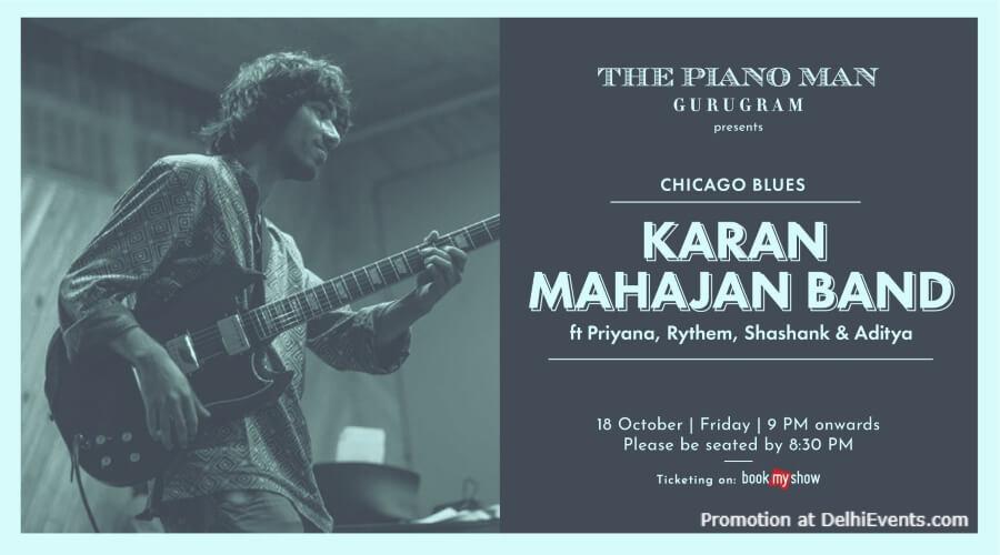 Karan Mahajan Band Piano Man Gurugram Creative