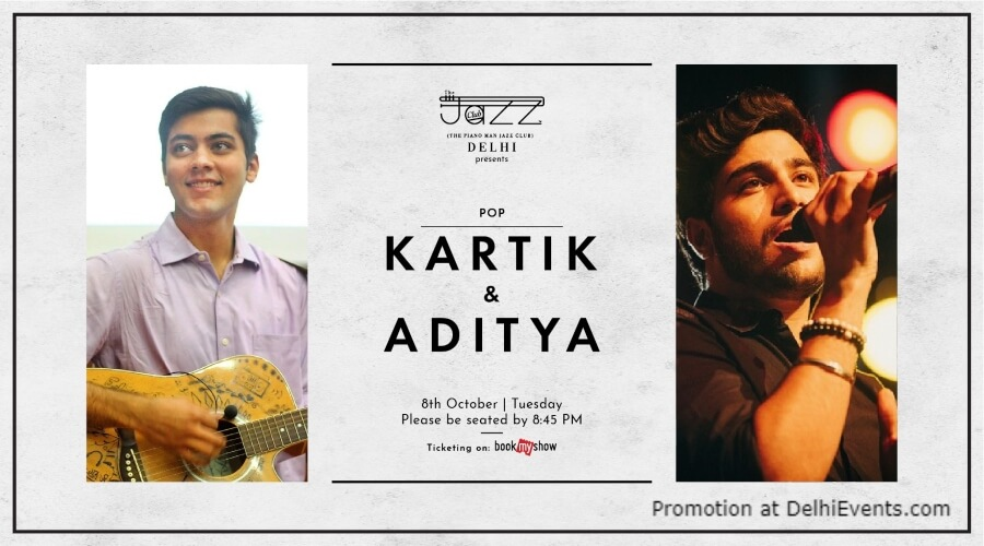 Kartik Aditya Piano Man Jazz Club Safdarjung Enclave Creative