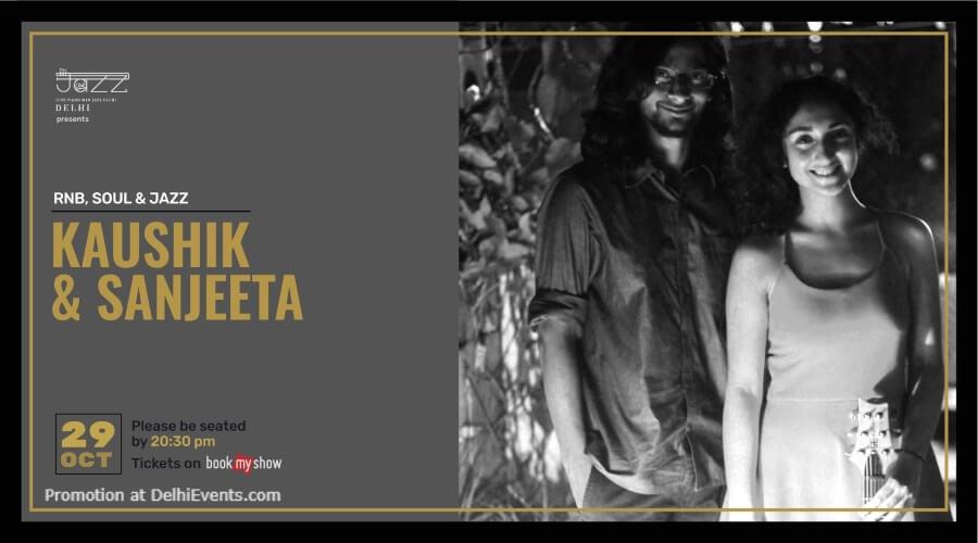 Kaushik Sanjeeta Piano Man Jazz Club Safdarjung Enclave Creative