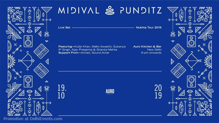 Midival Punditz live Set Auro Kitchen Bar Hauz Khas Creative