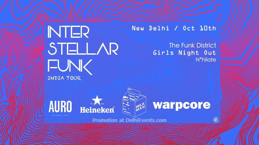 Milkman X Warpcore Interstellar Funk Delhi Auro Kitchen Bar Hauz Khas Creative