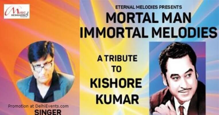 Mortal Man Immortal Melodies Tribute Kishore Kumar Sathya Sai Centre Lodhi Road Creative