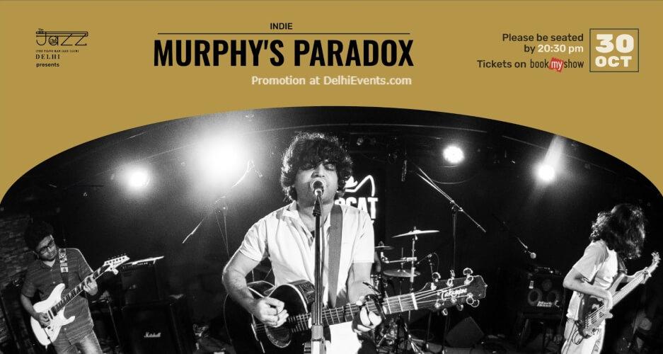Murphys Paradox Piano Man Jazz Club Safdarjung Enclave Creative