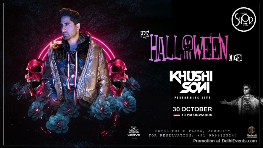 Pre Halloween Night Khushi Soni Imperfecto Shor Aerocity Creative