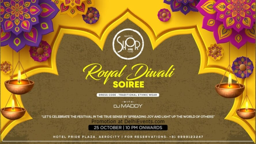 Royal Diwali Soiree Imperfecto Shor Aerocity Creative