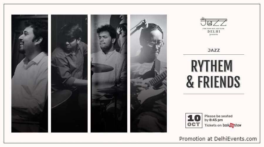 Rythem Friends Piano Man Jazz Club Safdarjung Enclave Creative