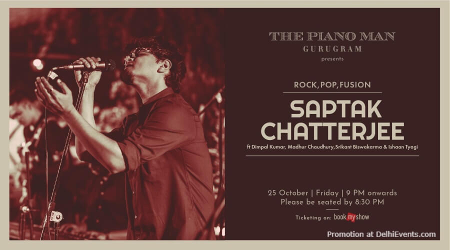 Saptak Chatterjee Piano Man Gurugram Creative