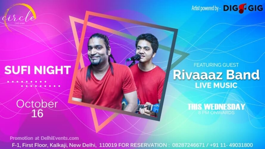 Sufi Night Rivaaz Band Digagig Circle Cafe Kalkaji Creative