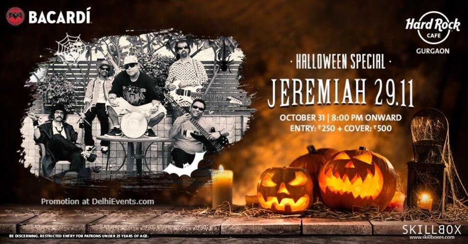 Thursday Jeremiah 2911 Hard Rock Cafe Gurugram Creative