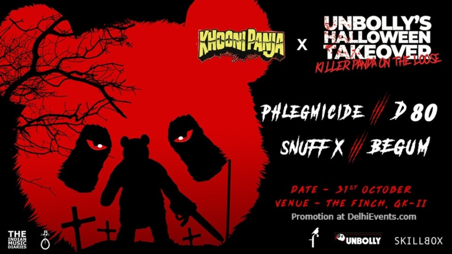 Unbollys Halloween Takeover Finch Greater Kailash Creative
