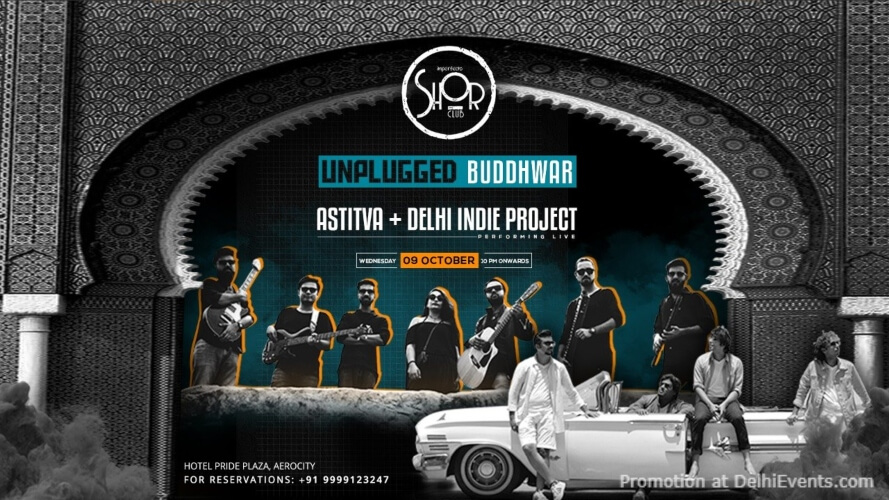 Unplugged Buddhwar Ft Astitva  Delhi Indie Project Imperfecto Shor Aerocity Creative