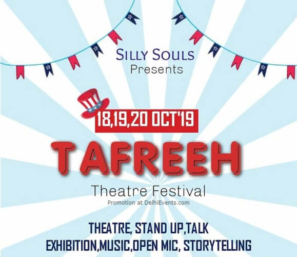 Tafreeh Theatre Festival Silly Souls Studio Civil Lines Creative