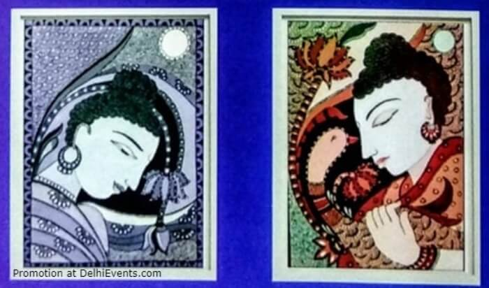 Enlightened Soul Solo Exhibition Paintings Rajni Kiran Jh Stills