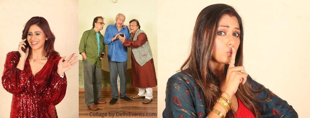 Felicity Theatre Patte Khul Gaye Comedy Play Rakesh Bedi Anant Mahadevan Stills