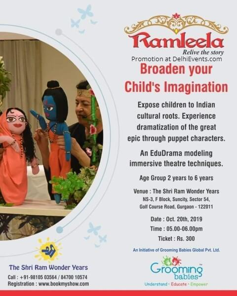 Grooming Babies Global Ramleela Relive Story Play Shri Ram Wonder Years Gurugram Creative